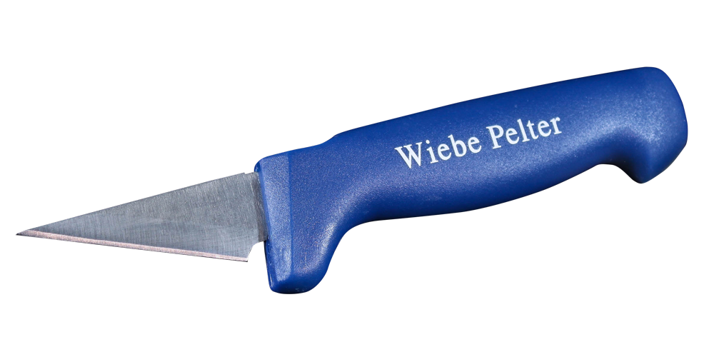 Wiebe Wicked Sharp Replacement Blades Pack Of 12 FUR HANDLING SKINNING BLADE